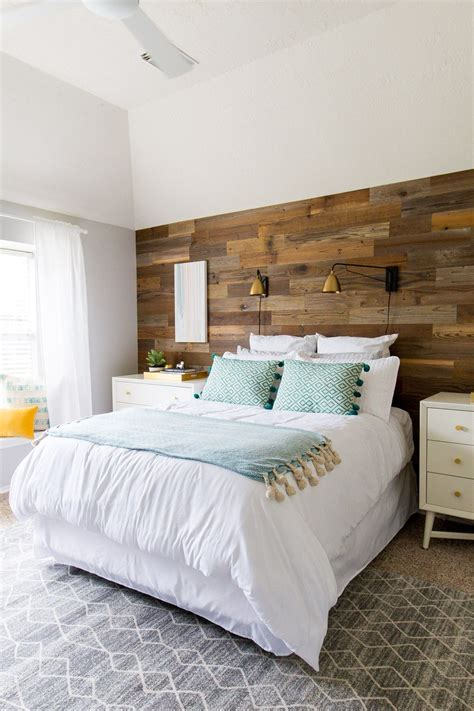 Diy Rustic Bedroom Makeover Before And After